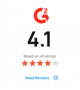 G2 4.1 out of 5 stars